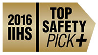 2016 IIHS Top Safety Pick + when equipped with EyeSight