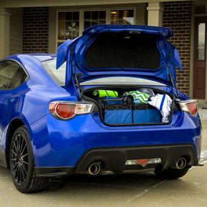 With 6.9 cubic feet of trunk space, BRZ has room for the whole family.