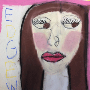 Artwork done by a student at the Edgewood Center for Children and Families.