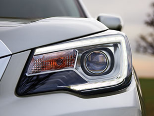 2017 Subaru Forester Steering Responsive Headlights