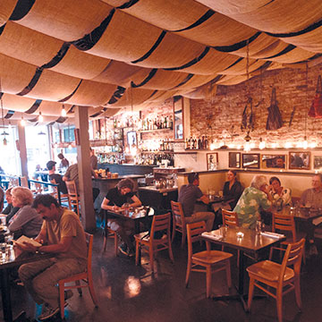 The Black Cypress in Pullman, Washington, offers charcoal-grilled Mediterranean farm-to-table magic.