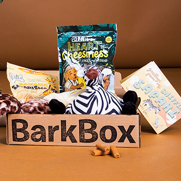 Subaru of America is partnering with BarkBox as part of the annual Subaru Loves Pets month.