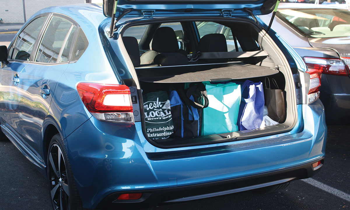 The 2017 Impreza Sport 5 Door Is Versatile And Holds Up To 208 Cubic Feet Of Cargo