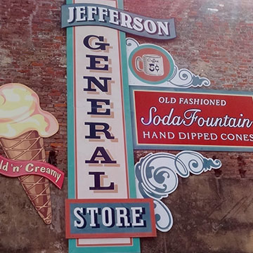 Jefferson General Store in Jefferson, Texas.