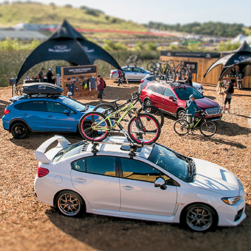 Subaru is the title sponsor of the Sea Otter Classic.
