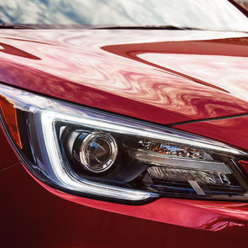 Subaru vehicles feature optional Steering Responsive Headlights that physically pivot left to right as you change the direction of your steering wheel.
