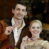 Alexa Scimeca Knierim and Chris Knierim